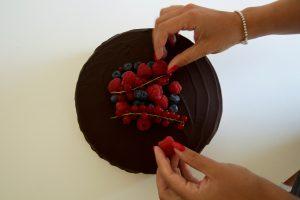 Dekoration Torte