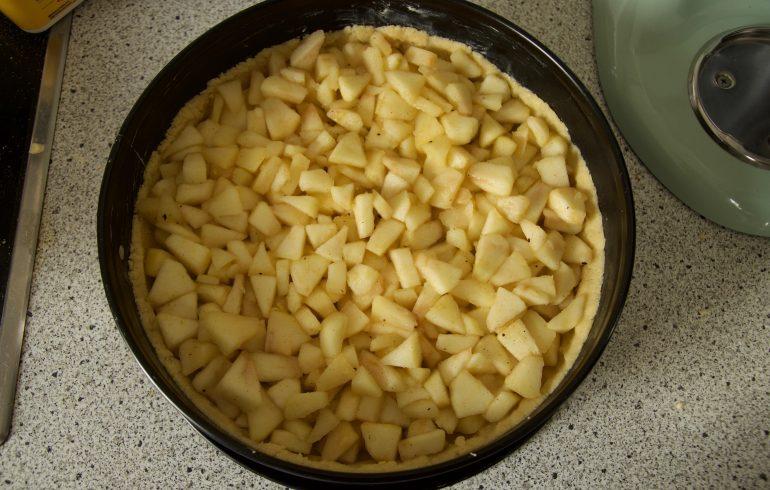 Füllung für Apfelkuchen