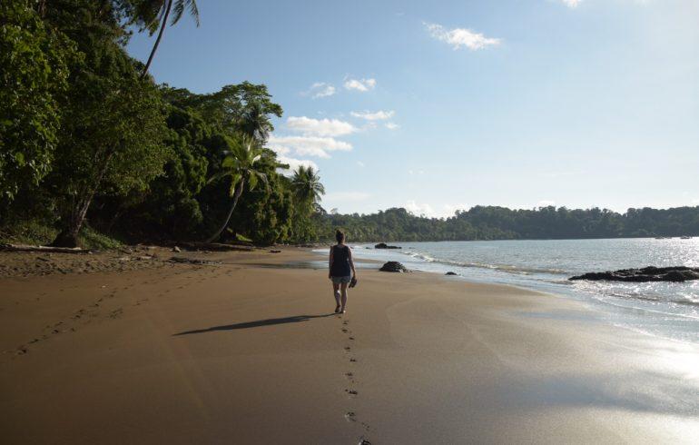 Strand Drake Bay Costa Rica