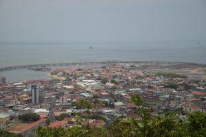 Blick auf San Felipe und El Chorillo