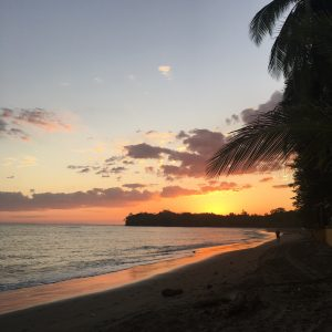 Sonnenuntergang Santa Catalina, Panama