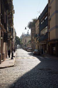 Straße, San Telmo, Buenos Aires, Argentinien
