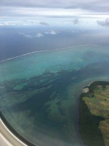 Landeanflug Nadi, Fiji
