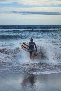 Surferparadies, Canggu, Kuta, Echo Beach, Bali, Indonesien, Indonesia