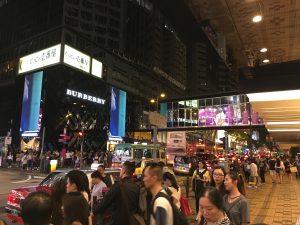 Hongkong, Hong Kong, Streetlife