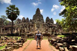 Bayon, Tempel, Tempelanlage, Angkor, Kambodscha, Siem Reap
