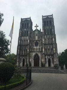 Kathedrale, Hanoi, Vietnam, Old Quartier