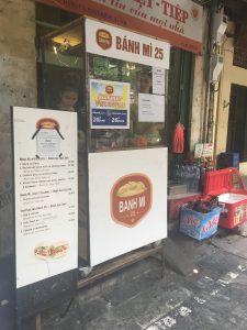 Streetfood, Hanoi, Banh Mi, Vietnam