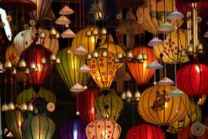 Hoi An, Lampen, Vietnam, Old Town