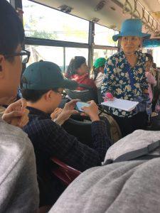 Busfahrt, Mui Ne, Vietnam