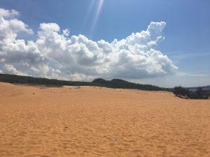 Red Dunes, rote Sanddünen, Mui Ne, Vietnam