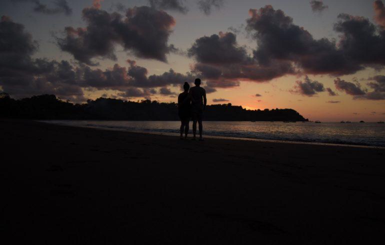 Sonnenuntergang Drake Bay