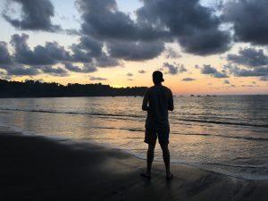 Sonnenuntergang Drake Bay Costa Rica