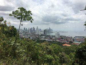 Blick auf Panama City vom Ancon Hill