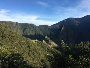 Machu Picchu im Sonnenaufgang, Aguas Calientes, Cusco, Peru