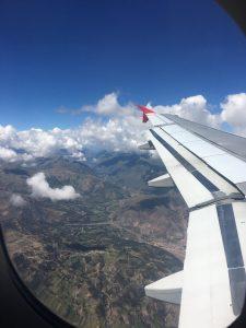 Flug von Bogota nach Cusco