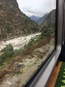 Zugfahrt mit PerRail nach Aguas Calientes