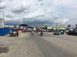 Grenzübergang Paso Canoas zwischen Costa Rica und Panama