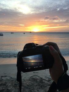 Sonnenuntergang, Blue Lagoon Resort, Nacula Island, Fiji, Südsee
