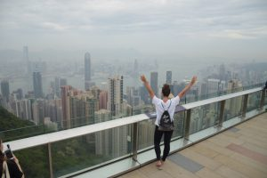 Hongkong, Hong Kong, Victoria Harbour, Victoria Peak, Skyline