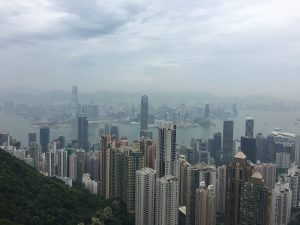The Peak, Hongkong, Skyline