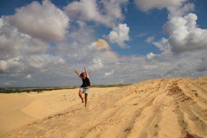 White dunes, weiße Sanddünen, Mui Ne, Vietnam