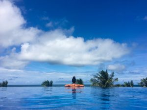 Eco Beach Resort, Infinity Pool, Phu Quoc, Vietnam